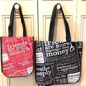 Lululemon Reusable Bags